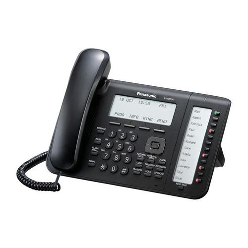 IP телефон PANASONIC KX-NT556RU-B panasonic kx nt556ru white