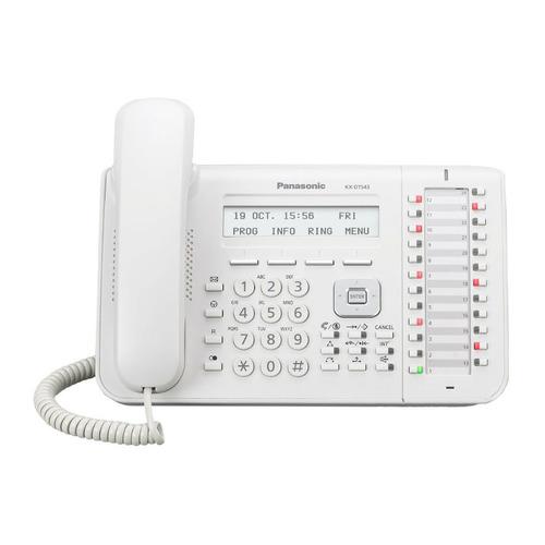 Системный телефон PANASONIC KX-DT543RU системный телефон panasonic kx t7735ru белый