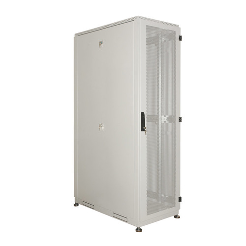 Шкаф серверный ЦМО (ШТК-С-42.6.10-48АА) 42U 600x1050мм пер.дв.перфор. 2 бок.пан. 1000кг серый