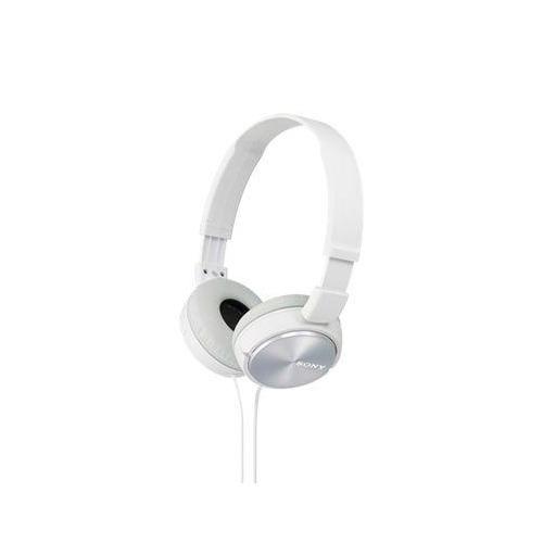 цена на Наушники SONY MDR-ZX310, 3.5 мм, накладные, белый [mdrzx310w.ae]