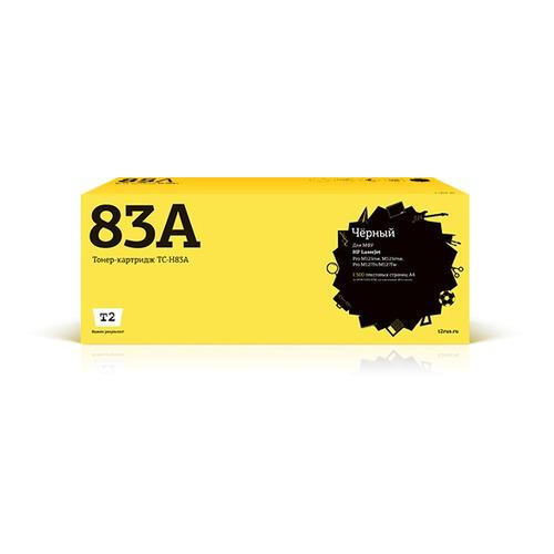 Картридж T2 TC-H83A, TC-CF283A, черный картридж t2 cb324he 178xl ic h324