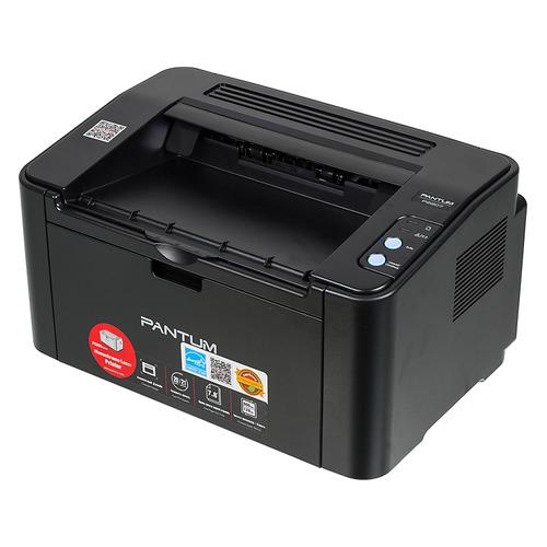 Принтер лазерный Pantum P2207 черно-белый, цвет: черный