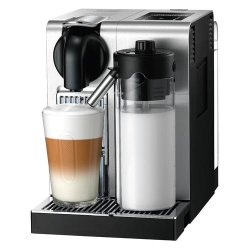 Капсульная кофеварка DELONGHI Nespresso Latissima EN 750.MB Pro, 1400Вт, цвет: серебристый [0132192223] EN 750.MB Pro по цене 38 380