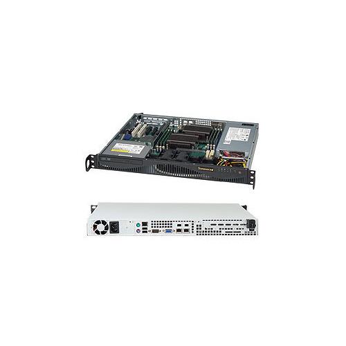 лучшая цена Корпус SuperMicro CSE-512F-350B 350W черный