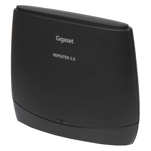 Радиотелефон GIGASET Repeater 2.0, черный [g repeater] gigaset repeater 2 0