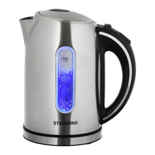 Чайник электрический STARWIND SKS4210, 2200Вт, серебристый матовый SKS4210 по цене 940