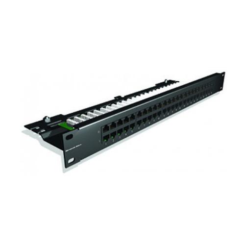 Патч-панель Brand-Rex (C5CPNLU504PK2M) 19 1U 50xRJ45 кат.3 UTP