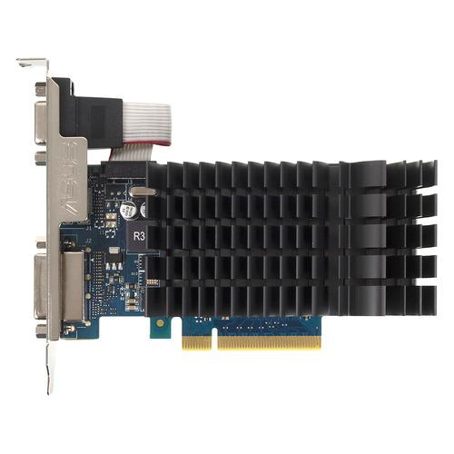Видеокарта ASUS nVidia GeForce GT 730 , GT730-SL-2GD3-BRK, 2Гб, GDDR3, Ret asus asus geforce gt 730 gt730 sl 2gd3 brk 1800 2048мб
