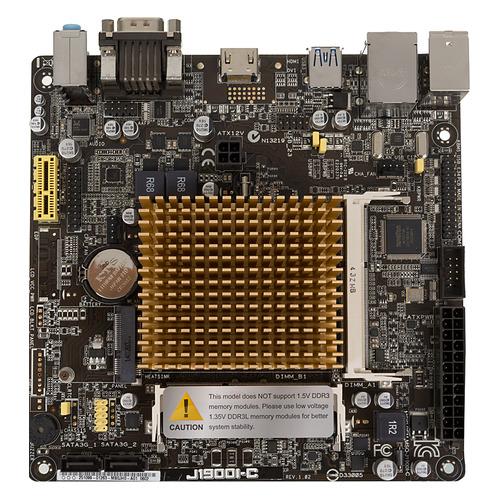 цена Материнская плата ASUS J1900I-C, mini-ITX, Ret