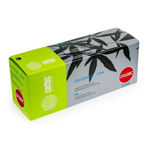 Картридж CACTUS CS-O3100C, голубой new original kyocera 302hn25010 roller heat for fs c5100 c5200 c5300