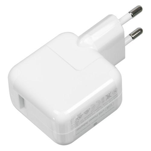 Сетевое зарядное устройство APPLE MD836ZM/A, USB, 2.1A, белый все цены
