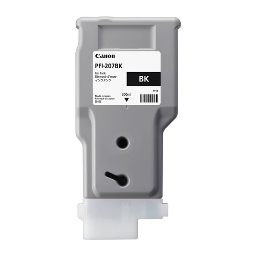 Картридж CANON PFI-207 BK, черный [8789b001]