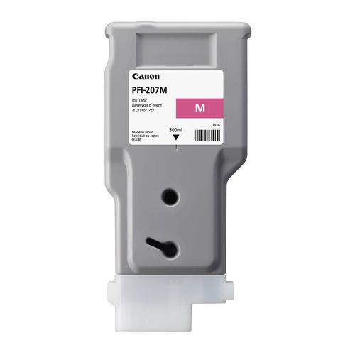 Картридж CANON PFI-207 M, пурпурный [8791b001]