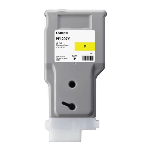 Картридж CANON PFI-207 Y, желтый [8792b001] PFI-207 Y по цене 12 740