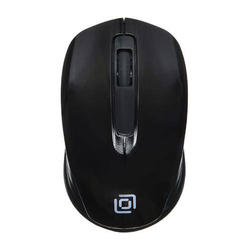 лучшая цена Мышь OKLICK 475MW, оптическая, беспроводная, USB, черный [tm-1500 black]