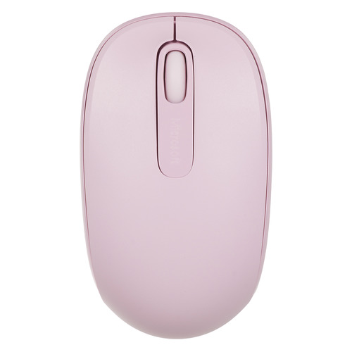 Мышь MICROSOFT Mobile Mouse 1850, оптическая, беспроводная, USB, розовый [u7z-00024] цена и фото