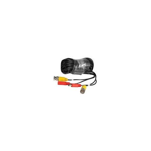 Кабель BNC+DC Ginzzu BNC (m)/BNC (m) 20м черный (GC-VP20B) кабель комбинированный bnc dc bnc dc l 30m