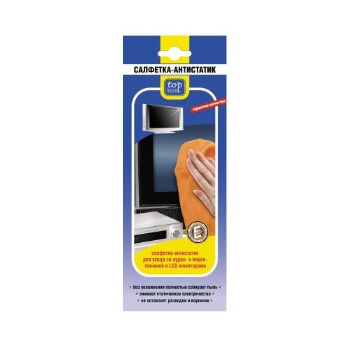 Салфетка Top House Антистатик, 40*40 см. салфетка top house для стеклокерамики 31 х 32 см