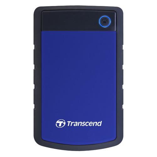 Фото - Внешний жесткий диск TRANSCEND StoreJet 25H3 TS2TSJ25H3B, 2Тб, синий внешний аккумулятор pb 6001 голубой 6000 мач
