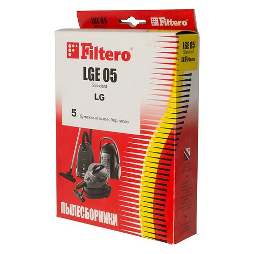цена на Пылесборники FILTERO LGE 05 Standard, двухслойные, 5 шт., для пылесосов LG