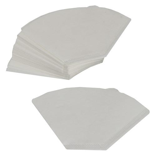 Фильтры для кофе FILTERO №2, для кофеварок капельного типа, бумажные, 40 шт, белый [№2/40] фильтры для кофе для кофеварок капельного типа filtero 2 белый упак 40шт