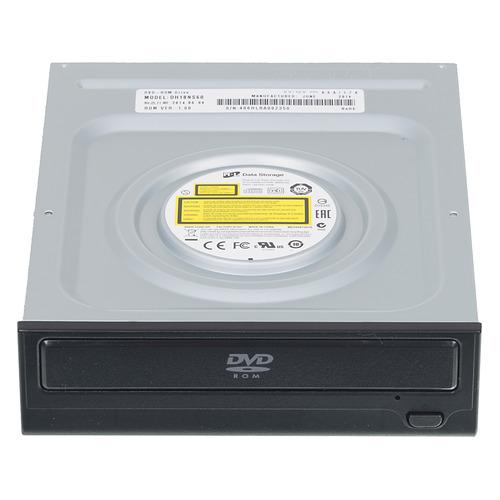 Фото - Оптический привод DVD-ROM LG DH18NS61, внутренний, SATA, черный, OEM привод blu ray lg bh16ns40 черный sata oem