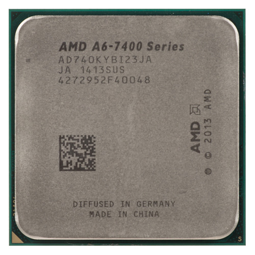 Процессор AMD A6 7400K, SocketFM2+ OEM [ad740kybi23ja] процессор amd a4 4000 box &lt socketfm2&gt ad4000okhlbox