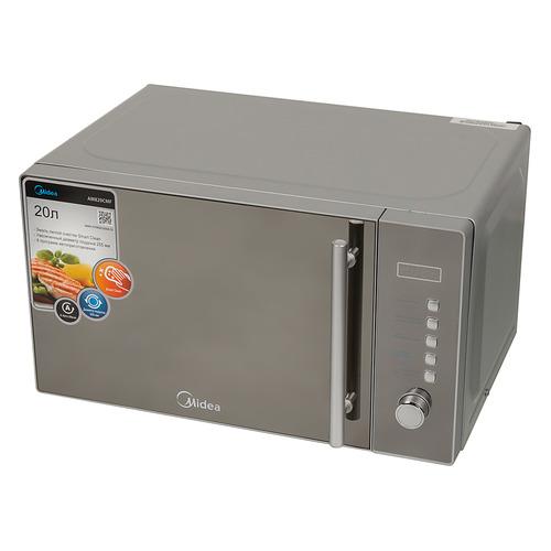 Микроволновая Печь Midea AM820CMF 20л. 800Вт серебристый цена и фото