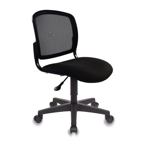 Кресло БЮРОКРАТ CH-296NX, на колесиках, ткань, черный [ch-296nx/15-21] CH-296NX по цене 3 290