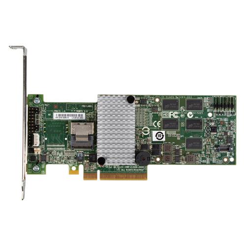 Контроллер LSI 9260-4I SGL RAID 0/1/10/5/6/50/60 4i-ports 512Mb (LSI00197)