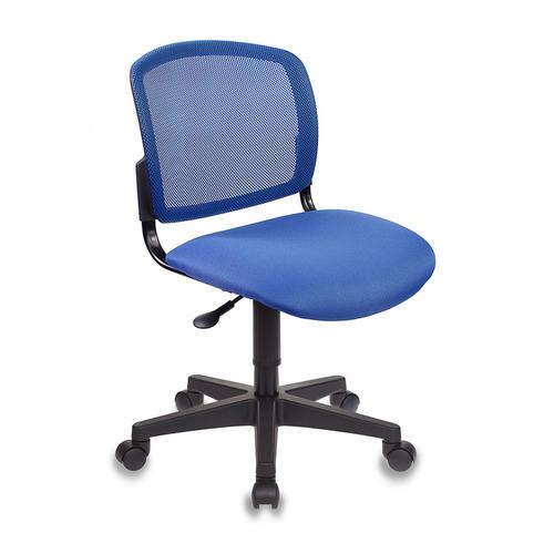 Кресло БЮРОКРАТ CH-296NX, на колесиках, ткань, синий [ch-296/bl/15-10] CH-296NX по цене 2 890