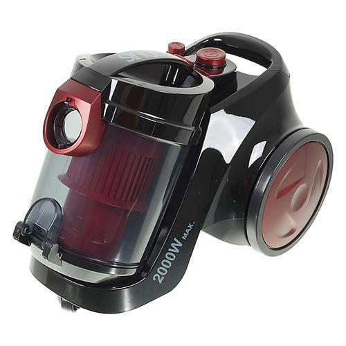 Пылесос PHILIPS PowerGo FC8293/01, 1800Вт, красный/черный PHILIPS