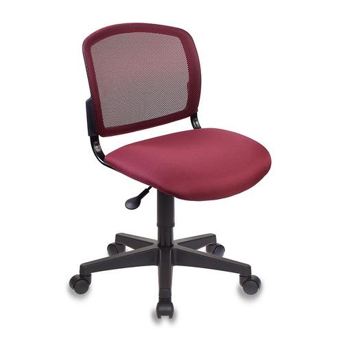 Фото - Кресло Бюрократ CH-296NX, на колесиках, сетка/ткань, бордовый [ch-296/dc/15-11] кресло бюрократ ch 296nx на колесиках сетка ткань бордовый [ch 296 dc 15 11]