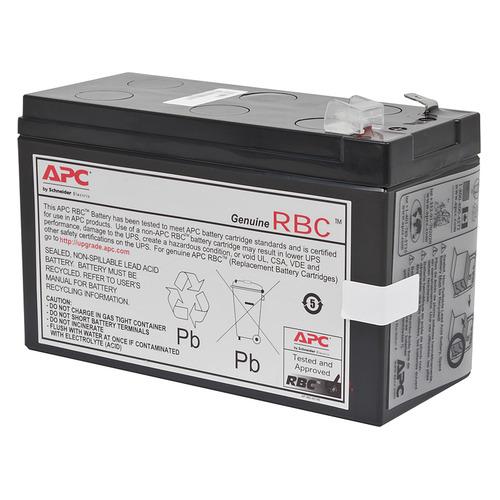 Фото - Аккумуляторная батарея для ИБП APC RBC17 12В, 9Ач батарея для ибп apc rbc34 6в 9ач