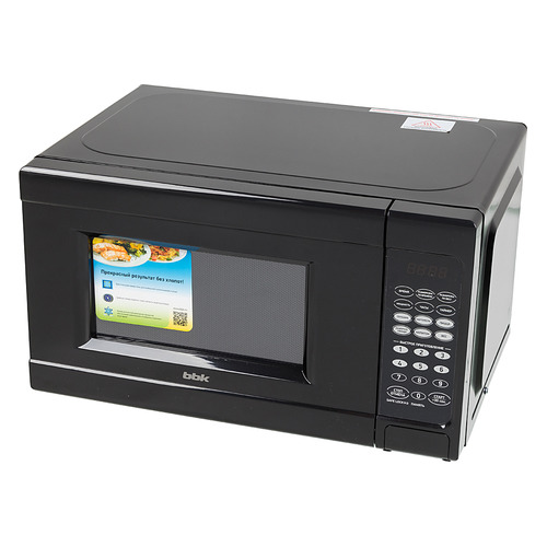 Микроволновая печь BBK 20MWS-727S/B, 700Вт, 20л, черный