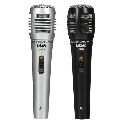 Фото - Микрофон BBK CM215, черный/серебристый [cm215 (b/s)] микрофон bbk cm215 черный шампань