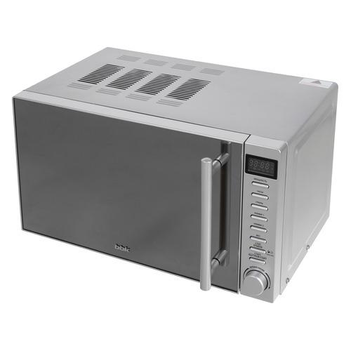 Микроволновая Печь BBK 20MWG-733T/BS-M 20л. 700Вт серебристый/черный микроволновая печь bbk 20mwg 732t b m