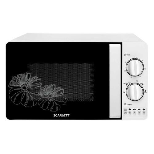 Микроволновая Печь Scarlett SC-MW9020S01M 20л. 700Вт белый цена