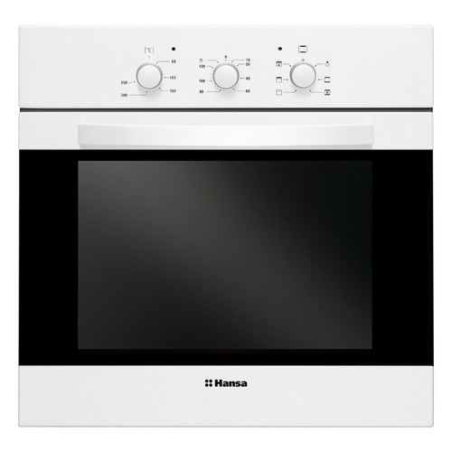 Духовой шкаф HANSA BOEW68102, белый электрический шкаф hansa boew68102 белый