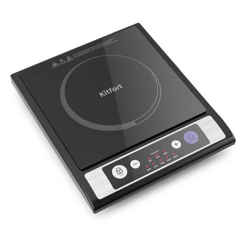 Плита Электрическая Kitfort КТ-107 черный стеклокерамика (настольная) все цены