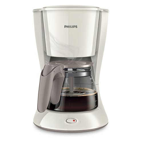 Кофеварка PHILIPS HD7447/00, капельная, белый цена и фото