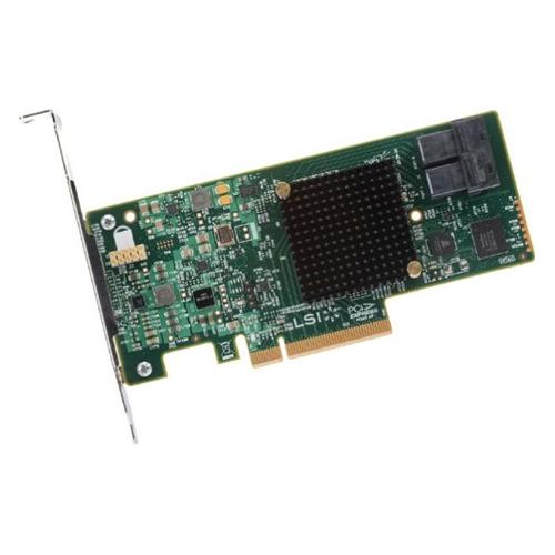 Контроллер LSI 9341-8I SGL 12Gb/s RAID 0/1/10/5/50 8i-ports (LSI00407 / 05-26106-00) контроллер lsi sas 9271 8i sgl lsi00330