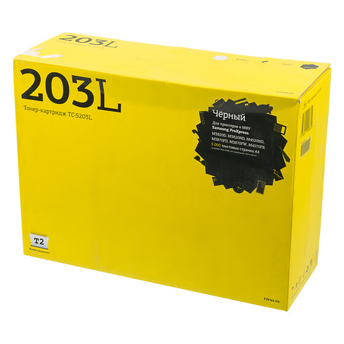 Картридж T2 TC-S203L, MLT-D203L, черный
