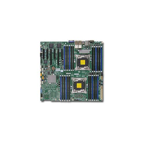 лучшая цена Серверная материнская плата SUPERMICRO MBD-X10DRI-LN4+-O, Ret (White Box)