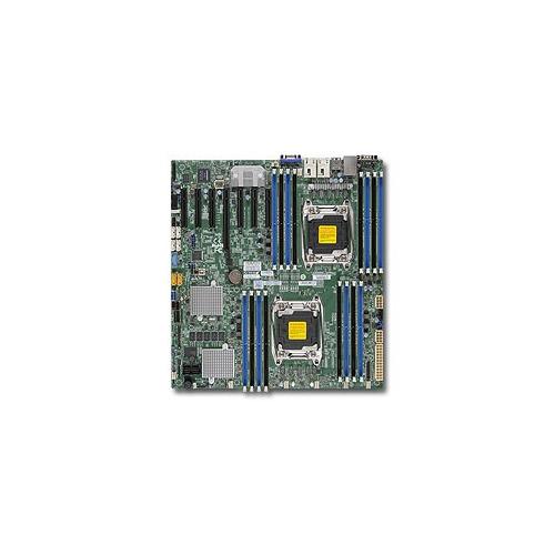 Серверная материнская плата SUPERMICRO MBD-X10DRH-C-O, Ret supermicro mbd x10drh c o gray