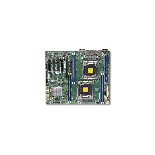 Серверная материнская плата SUPERMICRO MBD-X10DRL-i-O, Ret комплект для монтажа в стойку supermicro mbd x10drl it o mbd x10drl it o