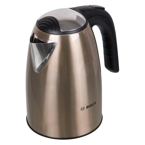 Чайник электрический BOSCH TWK7808, 2200Вт, золотистый чайники электрические bosch чайник bosch twk7801 1 7л 2200вт