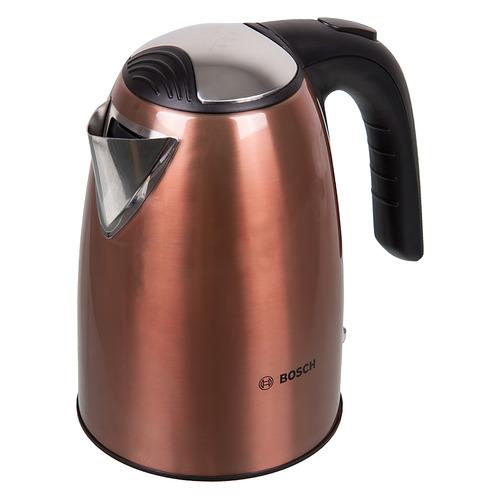 Чайник электрический BOSCH TWK7809, 2200Вт, медный чайники электрические bosch чайник bosch twk7801 1 7л 2200вт