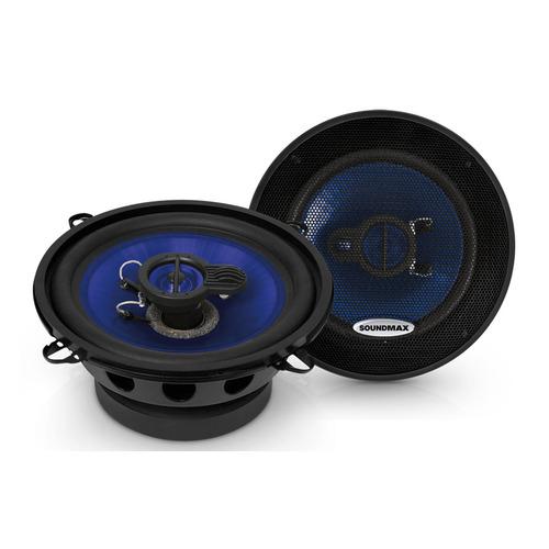 Колонки автомобильные SOUNDMAX SM-CSE503, 13 см (5 дюйм.), комплект 2 шт.