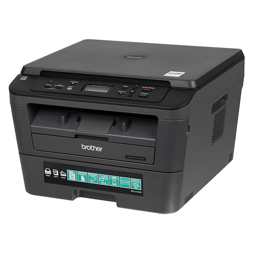Фото - МФУ лазерный BROTHER DCP-L2520DWR, A4, лазерный, черный [dcpl2520dwr1] мфу brother dcp l3550cdw цветное а4 18ppm с дуплексом автоподатчиком lan wifi
